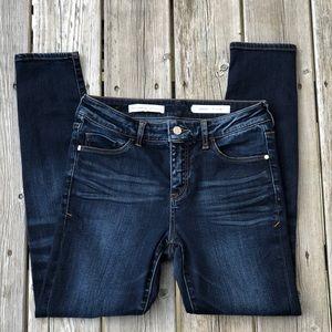 Pilcro And The Letterpress Script Skinny Jeans